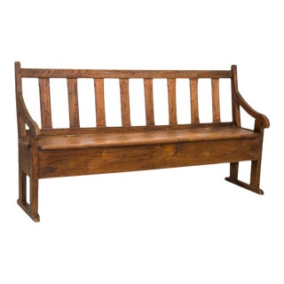 18th Century French Transit Storage Bench
