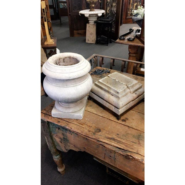 19th Century Antique Marble Urn For Sale - Image 4 of 5