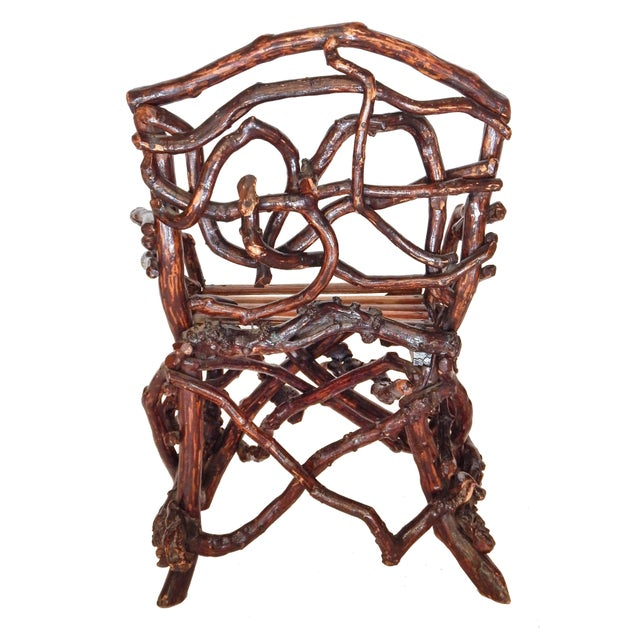 Early 20th Century Twig Chair For Sale - Image 5 of 10
