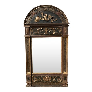 18th Century Italian Wood Mirror For Sale