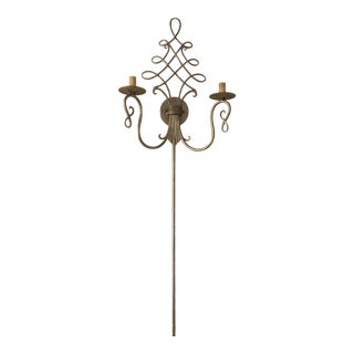 Currey & Company Regiment Wall Sconce For Sale