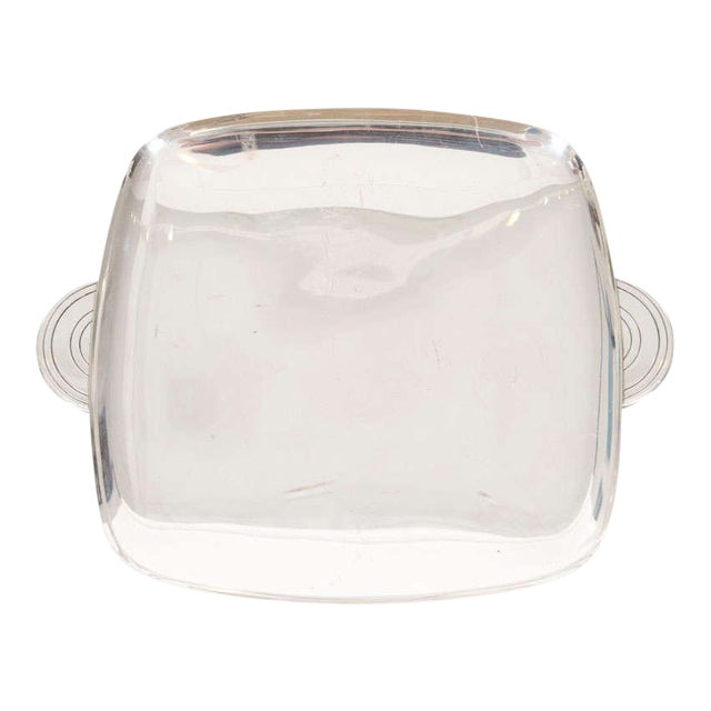 Tommi Parzinger for Dorlyn Silver Plate Serving Tray For Sale