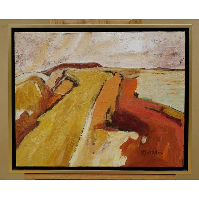 """Laurie MacMillan """"Silence"""" Abstract Landscape For Sale In Los Angeles - Image 6 of 6"""