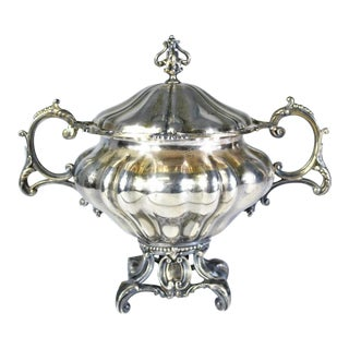 Jean Francois Voyrat French Sterling Silver Bowl Circa 1832 -1840 For Sale