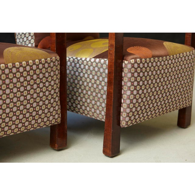 Pair of 1920s Art Deco Lounge Chairs from Buenos Aires For Sale - Image 11 of 11