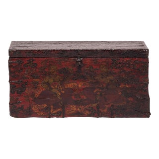 19th Century Tibetan Trunk For Sale