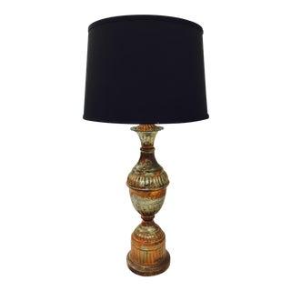 Antique Indian Copper Lamp