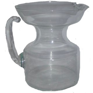Mid Century Modern Glass Pitcher For Sale