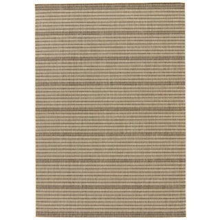 Jaipur Living Middlebrook Indoor/ Outdoor Striped Area Rug - 9′ × 12′ For Sale
