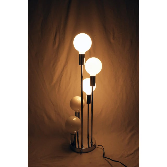 Spiral Five Globe Table Lamp For Sale In Palm Springs - Image 6 of 9