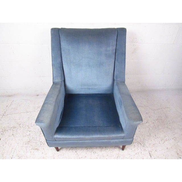 Mid-Century Modern Paul McCobb Style Lounge Chair For Sale In New York - Image 6 of 9