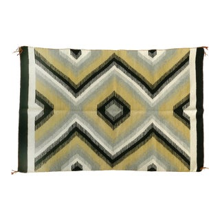 1940s Original Hand-Woven Navajo Rug For Sale
