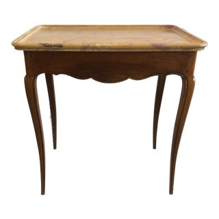 19th Century Louis XV Style French Marble-Top Table For Sale