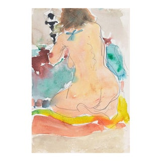 'Kneeling Nude' by Victor Di Gesu; California Post-Impressionist, Louvre, Académie Chaumière, Lacma For Sale