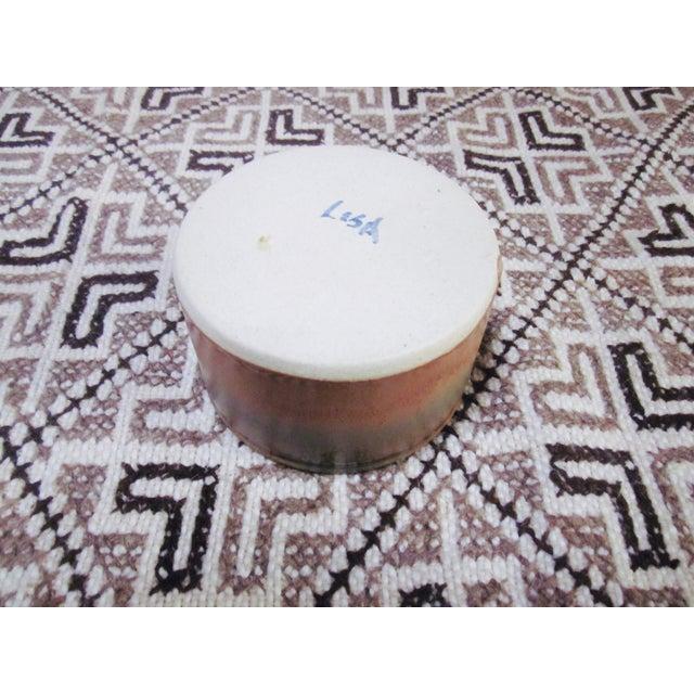 Modern Glazed Pottery Stoneware Platter & Dish - Image 8 of 8