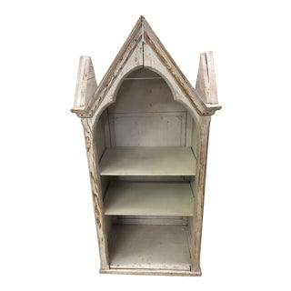 Antique Continental Painted Church Niche