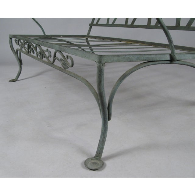 Salterini Wrought Iron Settees by Salterini, Circa 1950 - a Pair For Sale - Image 4 of 11