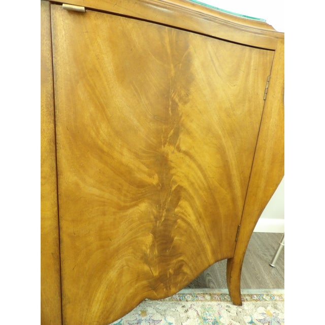 Vintage Bombay Burl Wood Chest/Cabinet For Sale In West Palm - Image 6 of 8