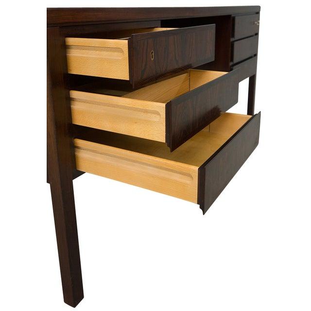 Danish Rosewood Desk by Gunni Omann - Image 6 of 9