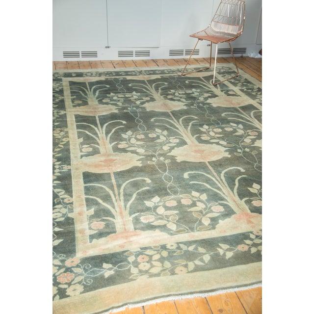 """Vintage Indo Donegal Carpet - 8'8"""" x 11'9"""" - Image 9 of 9"""