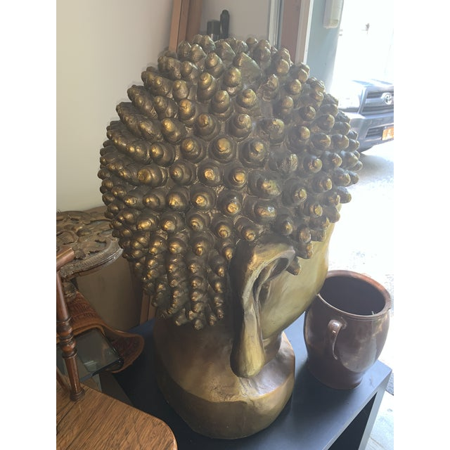 Early 20th Century Buddha Head For Sale - Image 4 of 6