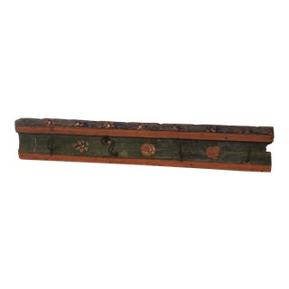 Belgium Original Paint School House Hat/Coat Rack For Sale