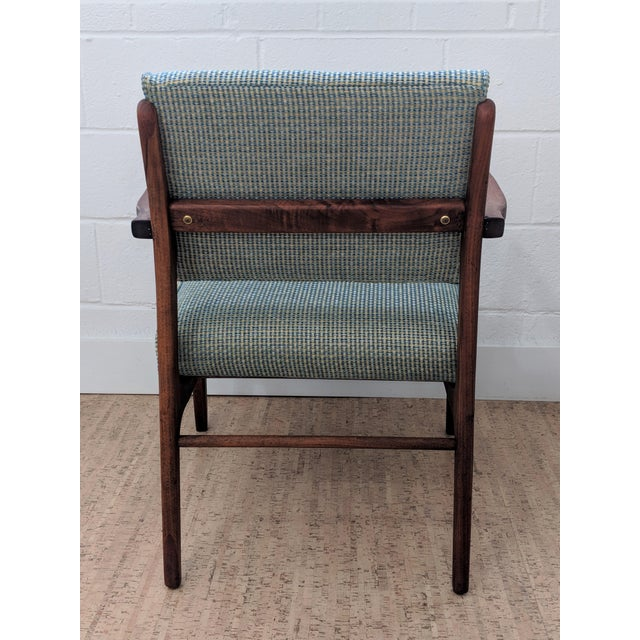 1960s 1960s Restored Vintage Armchair For Sale - Image 5 of 11
