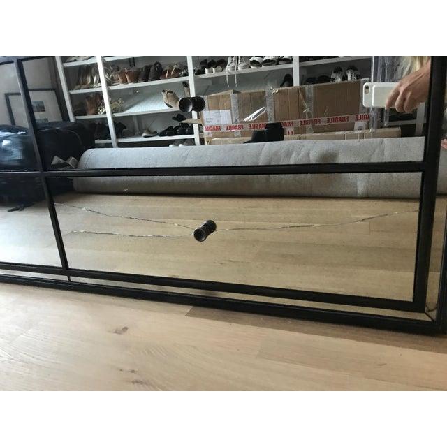 Restoration Hardware Strand 10-Drawer Mirrored Dresser - Image 5 of 6