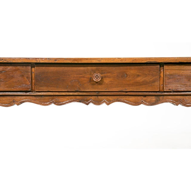 Early 19th Century Early 19th Century Italian Farm House Table For Sale - Image 5 of 6