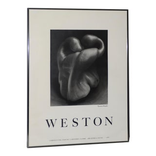 "Edward Weston ""Bell Pepper"" Poster C.1979 For Sale"