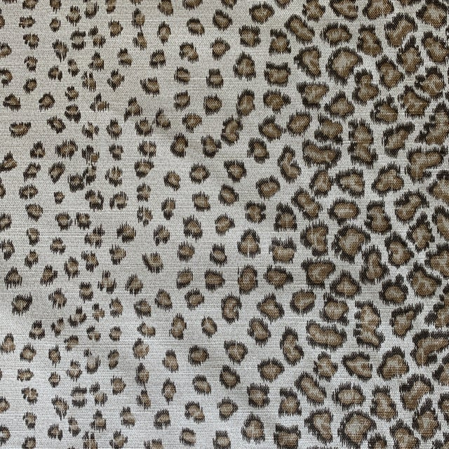 "Colefax & Fowler ""Livingstone"" Leopard Print Fabric- 2 1/2 Yards For Sale In New York - Image 6 of 6"