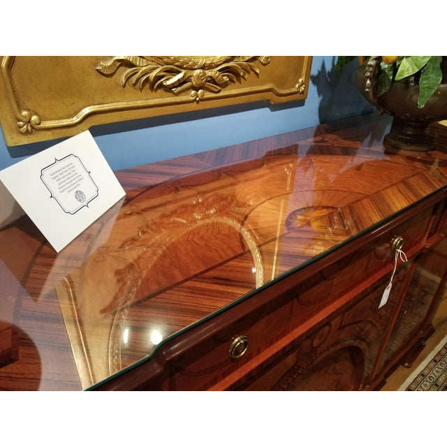 David Michael English Style Sideboard From Winston Churchill Suite of Waldorf Astoria For Sale - Image 9 of 13