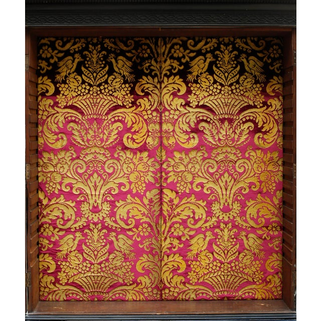 George III Parcel-Gilt Secretary Bookcase With Provenance For Sale - Image 9 of 13