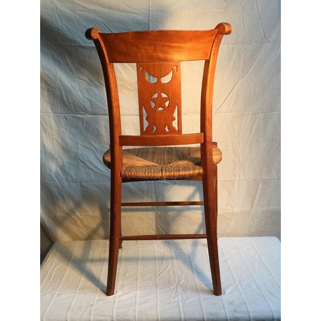 Carved Dining Room Chairs - Set of 6 - Image 4 of 5