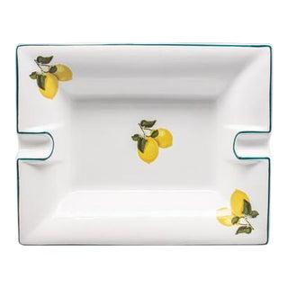 Casacarta Lemon Large Trinket Tray / Ashtray