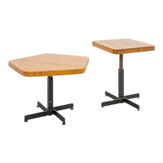 Set of Les Arcs Tables by Charlotte Perriand