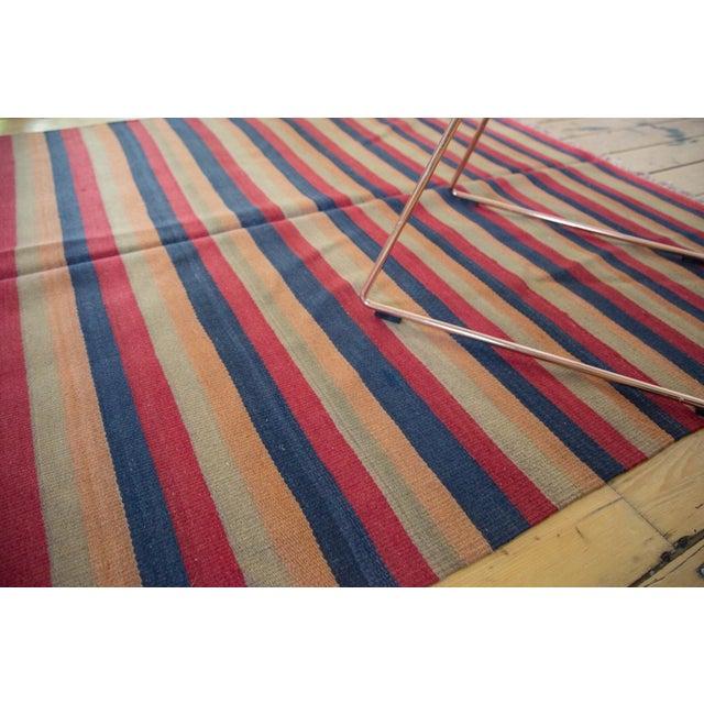 """Vintage Kilim Rug Runner - 4'9"""" X 10'6"""" For Sale - Image 4 of 5"""