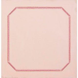 "Snail Pink Bevel Minimalist 20"" Art Print For Sale"
