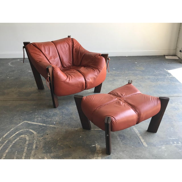 Mid Century Modern Model Mp-212 Percival Lafer Lounge Chair and Ottoman For Sale - Image 13 of 13