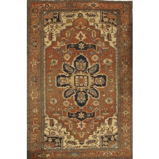 "Pasargad Ny Antique Persian Serapi Rug - 8'9"" X 13'2"" For Sale"