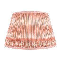 "Boho Chic Ikat Printed Lamp Shade 18"", Salmon For Sale - Image 3 of 3"