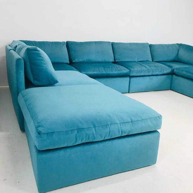 Milo Baughman Modular Sofa For Sale - Image 9 of 12