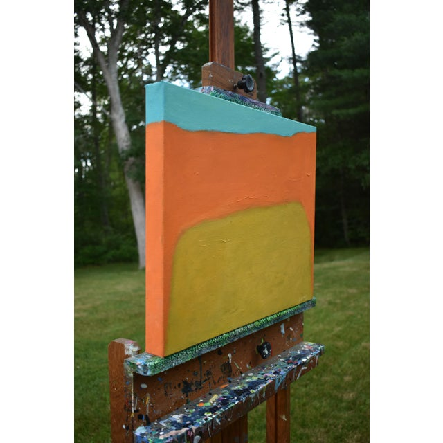 "Canvas Stephen Remick, ""Harvest"", Contemporary Abstract Painting For Sale - Image 7 of 12"