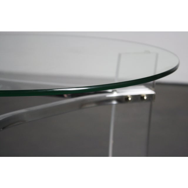 Charles Hollis Jones Lucite End Tables - Pair - Image 6 of 8