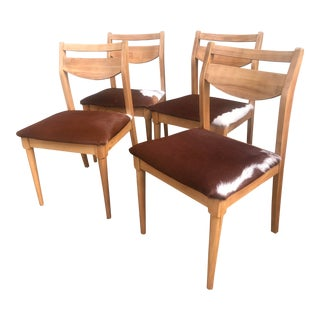 Mid-Century Dining Chairs- Set of 4 For Sale