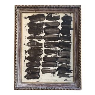 Abstract Black & White by Houston Artist For Sale