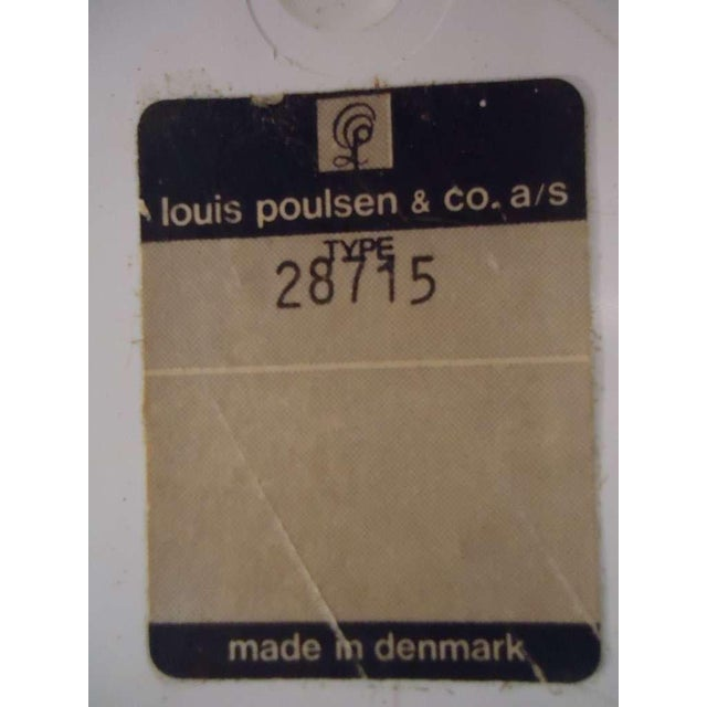 Metal Verner Panton Panthella Floor Lamp For Sale - Image 7 of 12