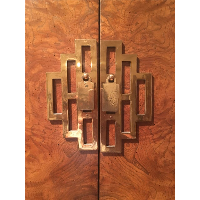 Century Furniture Ming Style Burl Airmoire - Image 3 of 9
