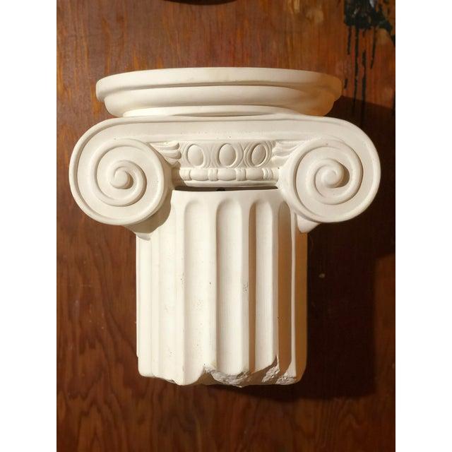 Ceramic 1980s Vintage Greek Column Wall Sconce For Sale - Image 7 of 7