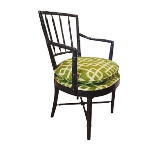 Drexel Heritage Faux Bamboo Chair
